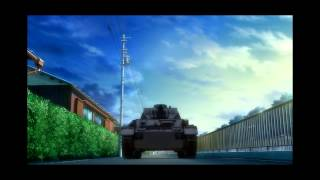 getlinkyoutube.com-Girls Und Panzer Mako wake up, subbed