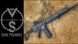 getlinkyoutube.com-FN FNC (Rare) VS M16 (Full Auto) Machine Guns