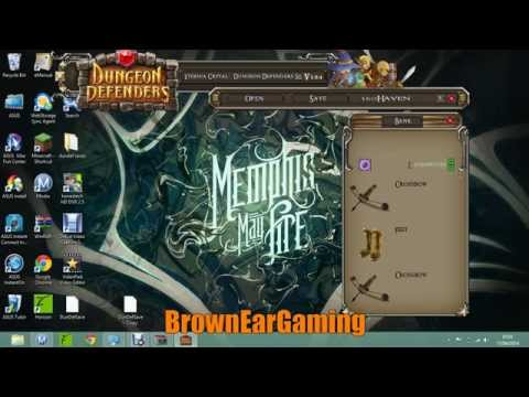How To Mod Dungeon Defenders Using Eternia Crystal