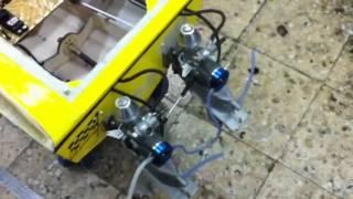 getlinkyoutube.com-Rc boat with twin nitro engine