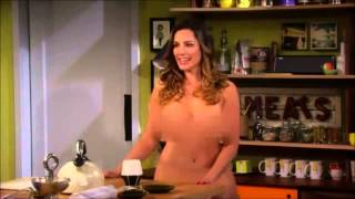 getlinkyoutube.com-Kelly Brook Walks Around Naked Blurred One Big Happy