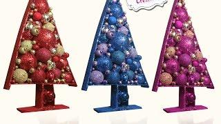 getlinkyoutube.com-Chuladas Creativas :: Arbolito Navidad :: Decoración Navideña