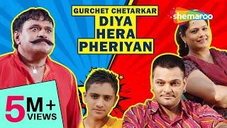 Gurchet Chitarkar New Comedy Movie 2018 | Hera Pheriyan | HD | Latest  Comedy Punjabi Full Movie