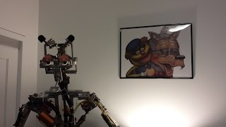 First Animatronic Rolfe and Earl Test