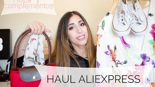 getlinkyoutube.com-Haul ~ Aliexpress | Ropa y complementos -español