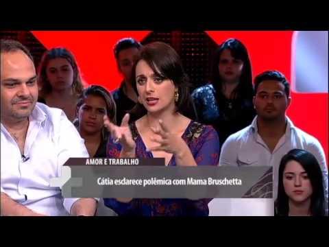 Roberto Justus + Cátia Fonseca explica por que chegou a pedir a demissão de Mama Bruschetta 01 03 20