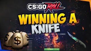 getlinkyoutube.com-CSGO BETTING: WINNING A KINFE ON CSGOROLL!