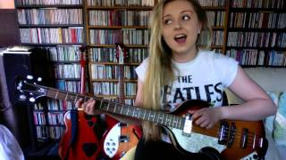 getlinkyoutube.com-Me Singing 'Ticket To Ride' By The Beatles (Full Instrumental Cover By Amy Slattery)