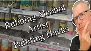 getlinkyoutube.com-8 Unusual Uses for Rubbing Alcohol, Hacks | Acrylic painting|#clive5art