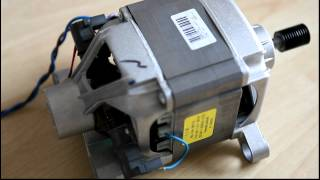 getlinkyoutube.com-Washing machine motor wired in as series motor (suicide motor)