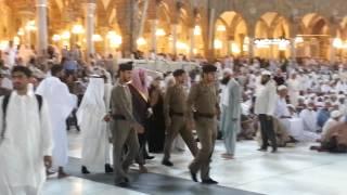 getlinkyoutube.com-تصوير خاص دخول الشيخ سعود الشريم الصحن | 30-7-1434 |