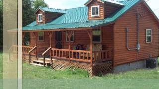 getlinkyoutube.com-Appalachian Log Cabins