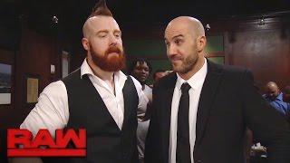 getlinkyoutube.com-Cesaro & Sheamus unite during a massive bar fight: Raw, Nov. 28, 2016
