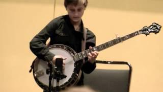 getlinkyoutube.com-10-Year-Old Jonny Mizzone - Blackjack - Sleepy Man Banjo Boys