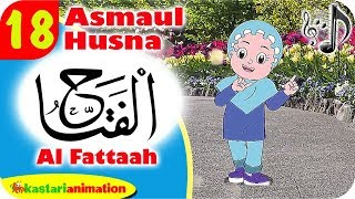 Asmaul Husna 18 - Al Fattah bersama Diva   Kastari Animation Official