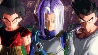 getlinkyoutube.com-Dragon Ball Xenoverse Trunks[FUTURE] / Goten[GT] /Krillin [Buu saga] Gameplay [MOD]