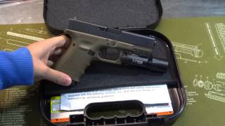 getlinkyoutube.com-OD Green Glock 19 Gen 4 Unboxing / Show and Tell