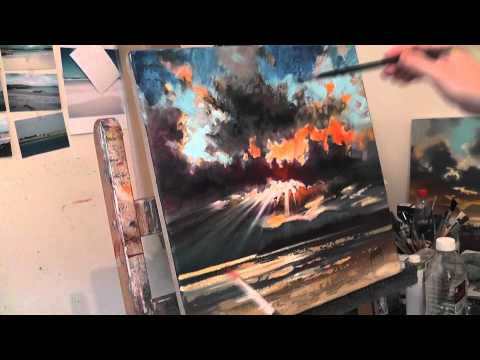 Oil Painting Tutorial: Painting Glazes