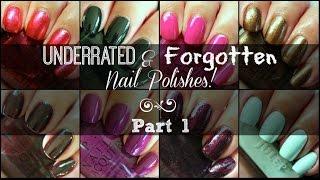 getlinkyoutube.com-Underrated & Forgotten Nail Polishes! | Part 1