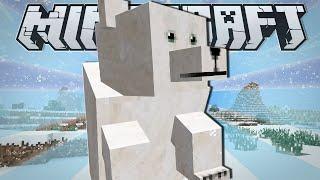 getlinkyoutube.com-Minecraft | PET POLAR BEAR!! | Custom Command