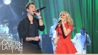 "getlinkyoutube.com-Watch Karmin Perform ""I Want It All"" on The Queen Latifah Show"