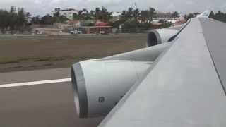 getlinkyoutube.com-REJECTED Take-Off! KLM 747 Unsafe Gear in St. Maarten