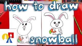 getlinkyoutube.com-How To Draw Snowball From The Secret Life Of Pets