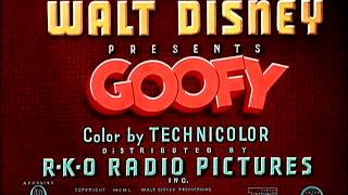 "getlinkyoutube.com-Goofy - ""Tomorrow We Diet!"" (1951) - recreation titles"
