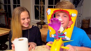 getlinkyoutube.com-The Whipped Cream Challenge!  (MattyBRaps vs Liv)