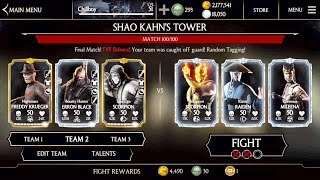 SHAO KAHN TOWER Ending -Last Stages #97-100 Gameplay -mortal Kombat x - update 1.11 -iOS mobile
