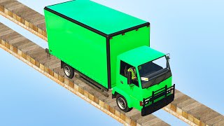 getlinkyoutube.com-IMPOSSIBLE TRUCK TIGHTROPE! (GTA 5 Funny Moments)