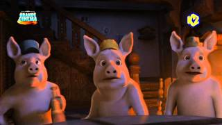 getlinkyoutube.com-I tre porcellini e il lupo... mannaro