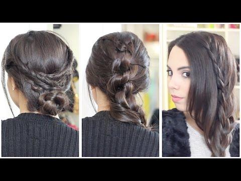 3 Peinados bonitos y fáciles | What The Chic