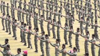 getlinkyoutube.com-건군 66주년, 의장대와 특공대의 축하 행사