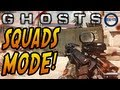 "Call of Duty: Ghosts - New ""SQUADS"" Mode Information! Multiplayer, Solo & More! (COD Ghost HD)"