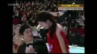 getlinkyoutube.com-KBS Star Magazine - Lee Min Ho & Goo Hye Sun in KBS Drama Awards