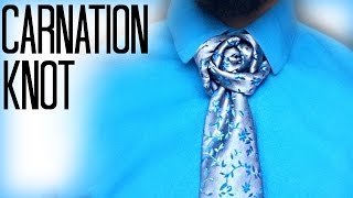How to tie a tie: The Carnation Knot