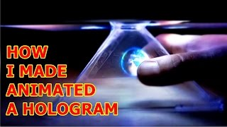 getlinkyoutube.com-How To Make DIY Hologram  for Smartphone or  IPad Tablet | Pyramid 3D Holovision