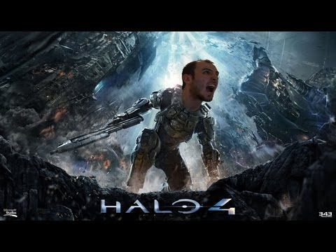 Halo 4 Legendary Campaign Playthrough Ep. #4 (Forerunner Mission - Rally Point Alpha)