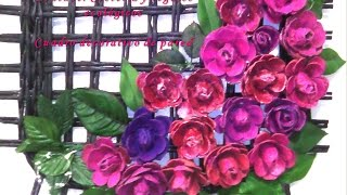 getlinkyoutube.com-Cuadro decorativo hecho de papel y cartón. DIY
