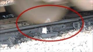 getlinkyoutube.com-SHORT VIDEO ON CONDITION OF INDIAN RAIL TRACKS : INDIAN RAILWAYS