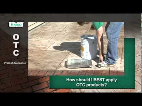 Meadows OTC Concrete Sealers Application