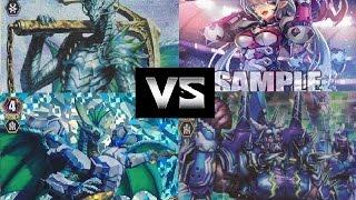 getlinkyoutube.com-Cardfight!! Vanguard Aqua Force (Trans Core) vs Spike Brother (Dudley)