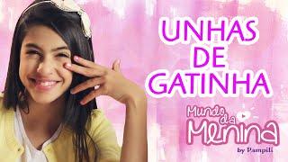 getlinkyoutube.com-Como fazer unhas de gatinha com a Fernanda Concon ❤ Mundo da Menina