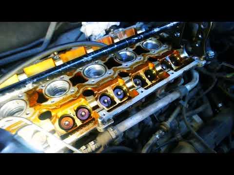 Замена маслосъёмных колпачков на двигателе Вольво хс70