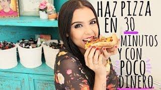 getlinkyoutube.com-PREPARA UNA PIZZA EN 30 MINUTOS ♥ - Yuya