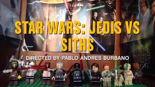 getlinkyoutube.com-LEGO Star Wars: Jedis Vs Sith