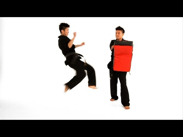 How to Do a Tornado Roundhouse Kick | Taekwondo Training