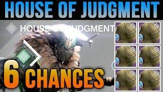 Destiny Judgment's Chance Package Opening x6 Variks Prison of Elder Loot Drop