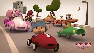 getlinkyoutube.com-Pocoyo & Cars: ¡La Gran Carrera! [especial 20 minutos]